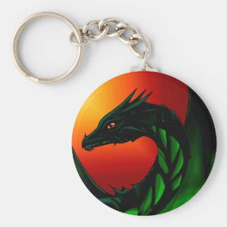 Oeil du dragon porte-clés