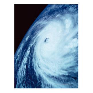 Oeil d'un cyclone carte postale