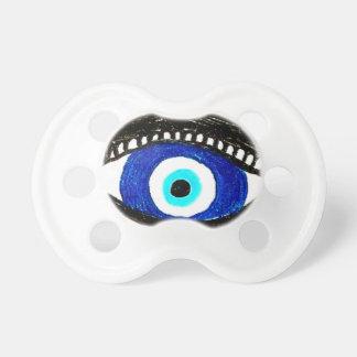 Oeil mauvais tétine pour bébé