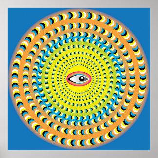 Oeil mystique posters