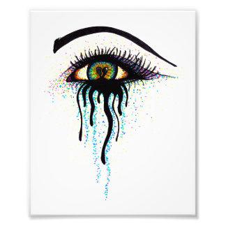 Oeil pleurant photographies