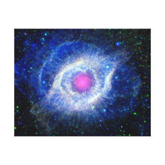 Oeil ultra-violet de nébuleuse d'hélice de photo toile
