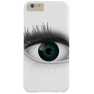Oeil vert coque iPhone 6 plus barely there
