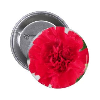 Oeillet rouge badge rond 5 cm