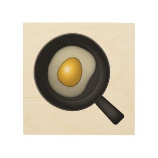 Oeuf de cuisine - Emoji Impression Sur Bois