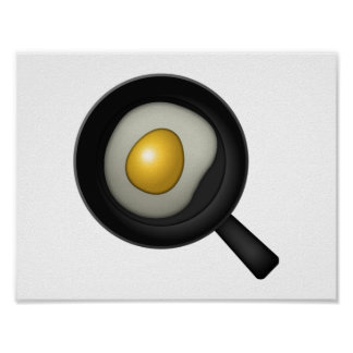 Oeuf de cuisine - Emoji Poster