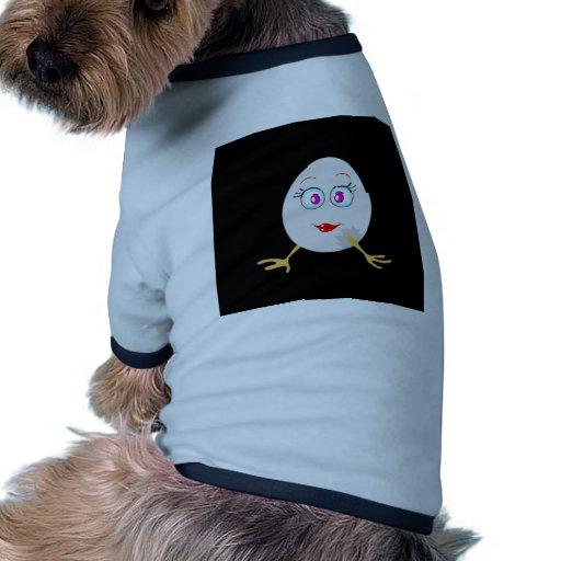 oeuf de pâques drôle t-shirt pour animal domestique