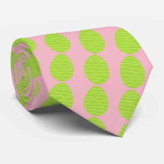 Oeuf de pâques vert de ressort cravates