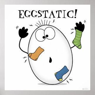 Oeuf Eggstatic-Enthousiaste Poster