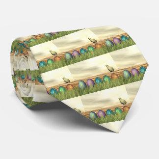 Oeufs colorés pour Pâques - 3D rendent Cravate