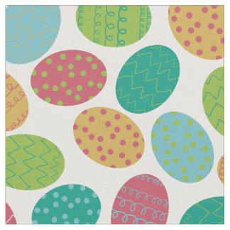Oeufs de pâques peints tissu