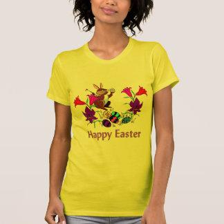 Oeufs peints de lapin t-shirt