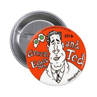 Oeufs verts et Ted Cruz pour le président Badges