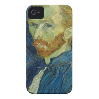 Oeuvre d'art d'autoportrait de Vincent van Gogh Coque iPhone 4