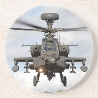 oh 64 militaires de helocopter d'arc d'Apaches Dessous De Verre