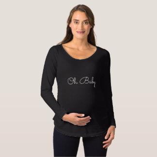 Oh chemise de maternité de bébé T-Shirt de maternité