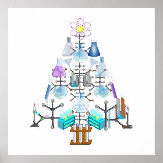 Oh chimie oh arbre de chimiste posters