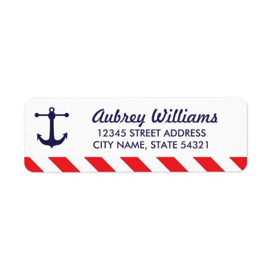 Oh ! Étiquettes de adresse nautiques