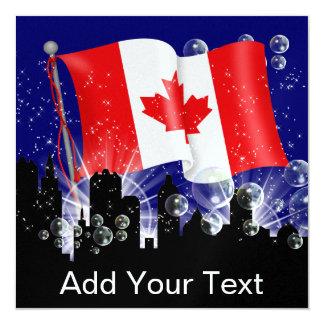 Oh invitation du Canada - SRF Carton D'invitation 13,33 Cm
