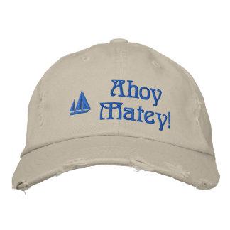 Oh les marins de copain ont brodé le casquette casquette brodée