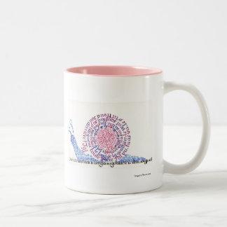 Oh ! L'escargot ! Mug Bicolore