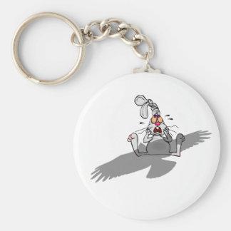 Oh non ! Bande dessinée de lapin Porte-clés
