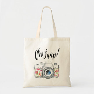 Oh rupture, illustration d'appareil-photo sac