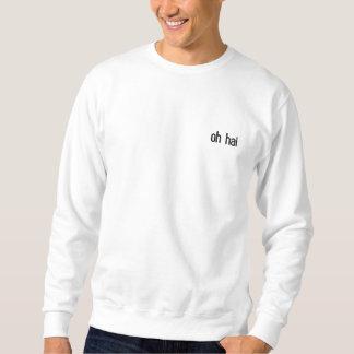 oh sweatshirt brodé par hai