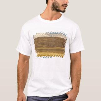 Oies de neige pendant la migration de ressort t-shirt