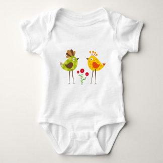 oiseau 2 de polkadot t-shirts
