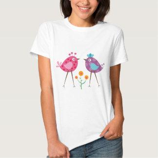 oiseau 3 de polkadot t-shirt