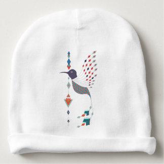 Oiseau aztèque tribal ethnique vintage bonnet de bébé