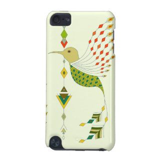 Oiseau aztèque tribal ethnique vintage coque iPod touch 5G