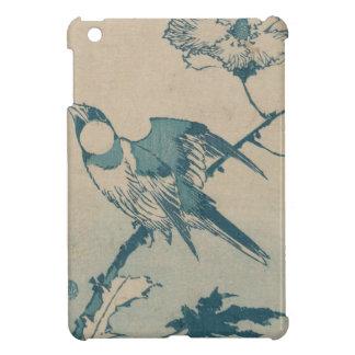 Oiseau bleu coque pour iPad mini