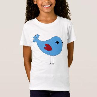 Oiseau bleu de Valentine T-Shirt