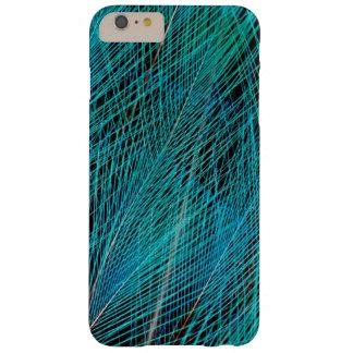 Oiseau bleu des plumes de paradis coque iPhone 6 plus barely there
