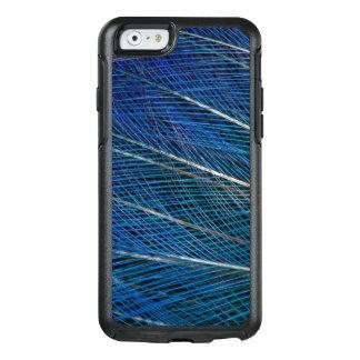 Oiseau bleu des plumes de paradis coque OtterBox iPhone 6/6s