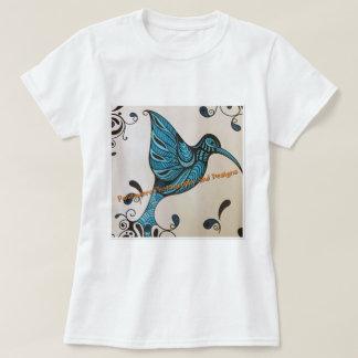 Oiseau bleu t-shirt