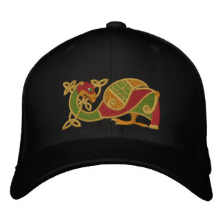 Oiseau celtique casquette brodée