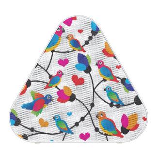 oiseau coloré mignon de perroquet haut-parleur bluetooth