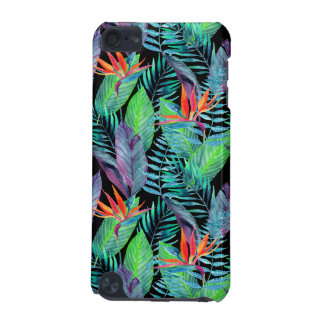 Oiseau d'aquarelle du paradis coque iPod touch 5G