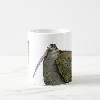 oiseau de bécasse des bois avec l'oeuf, fernandes mug
