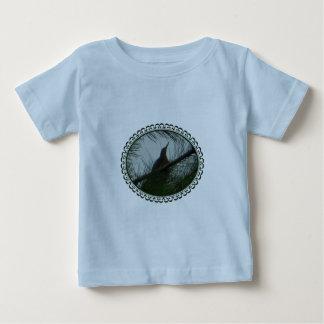 Oiseau de butor étoilé américain encadré t-shirt