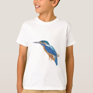 Oiseau de martin-pêcheur t-shirt
