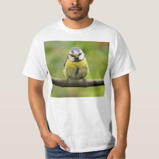 Oiseau de mésange bleue t-shirt