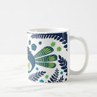 oiseau de région boisée mug