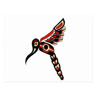 Oiseau de ronflement de Haida Cartes Postales