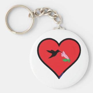 oiseau de ronflement porte-clé rond