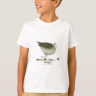 Oiseau de Snipe, fernandes élégants T-shirt