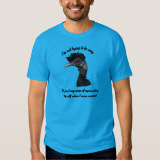Oiseau d'Elvis - je n'essaye pas d'être… (Texte T-shirts